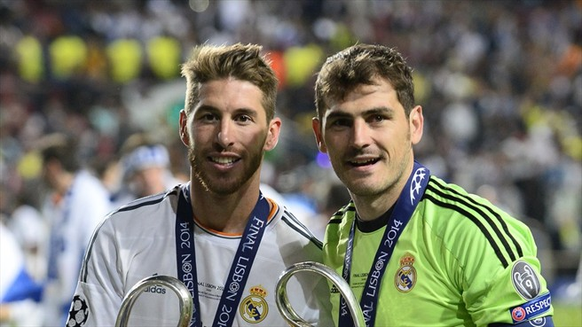 Iker Casillas Ramosnak üzent Twitteren