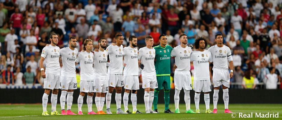 A Real Madrid hivatalos kezdőcsapata a Galatasaray ellen