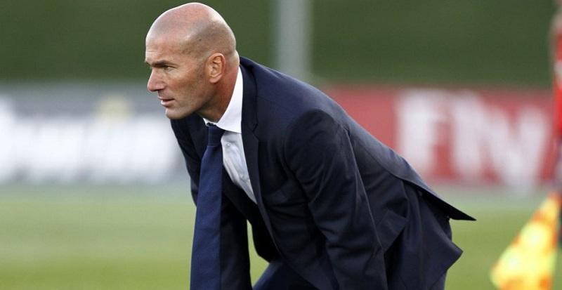 """Zidane: """"Fejlődnöm kell még ahhoz, hogy az első csapatot irányítsam"""""""