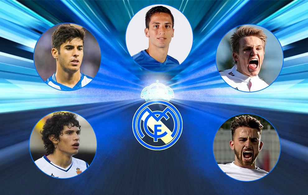 A Real Madrid utánpótlásának legnagyobb reménységei