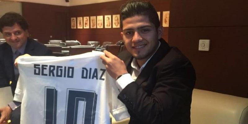 Sergio Díaz a tízes mezszámot kapja
