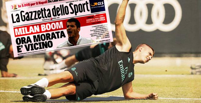 Morata fél lábbal Milánóban?
