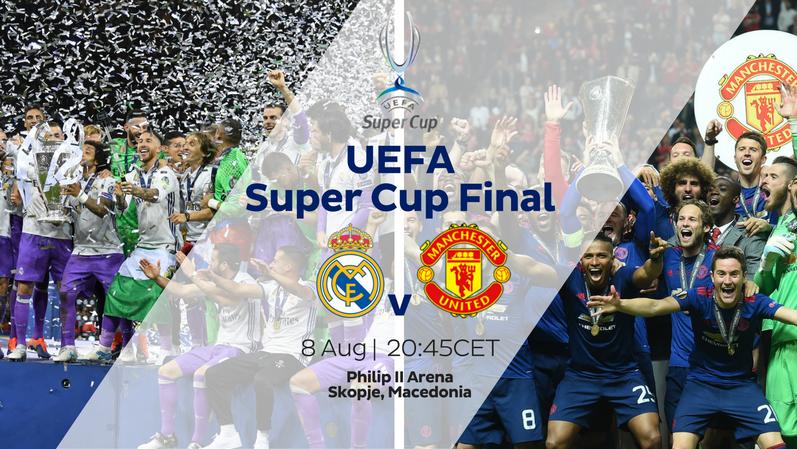 Végre itt az első tétmeccs, rögtön trófeáért! Előzetes: Real Madrid – Manchester United