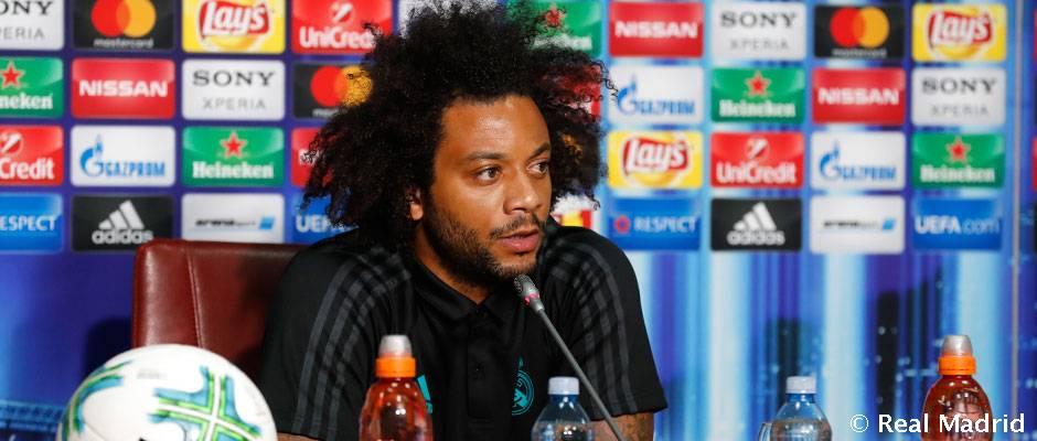 """Marcelo: """"Egyenlő felek küzdelme lesz ez a meccs"""""""