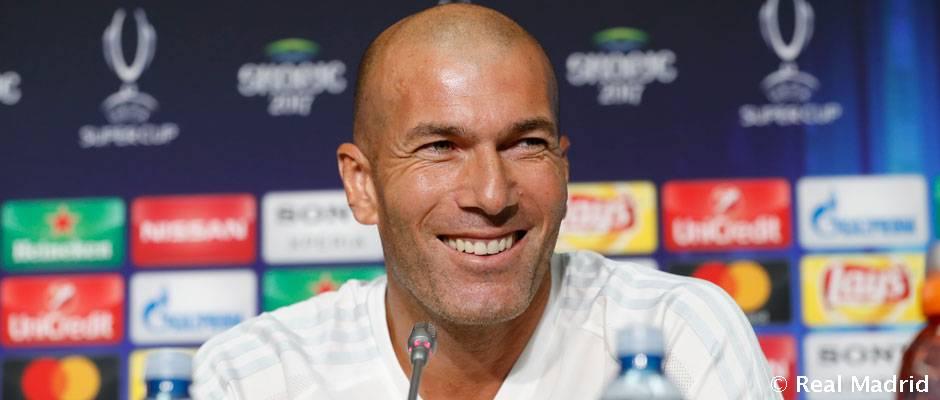 """Zidane: """"Cristiano olyan formában van, mint a Bajnokok Ligája döntőjén pár hónapja"""""""