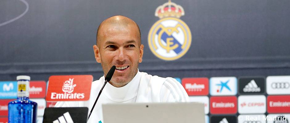 "Zidane: ""Címet akarunk védeni"""