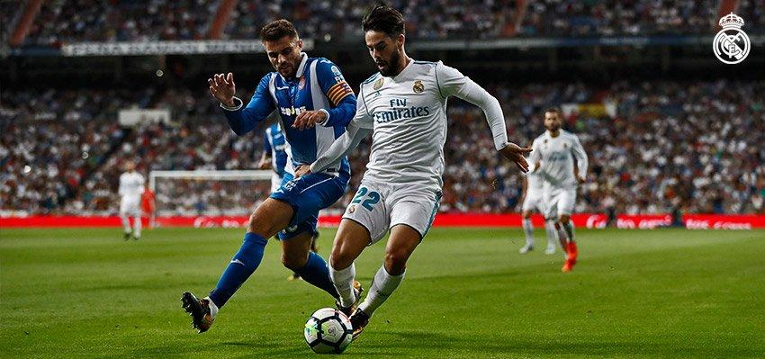 Isco szállította a győzelmet: Real Madrid – Espanyol 2-0