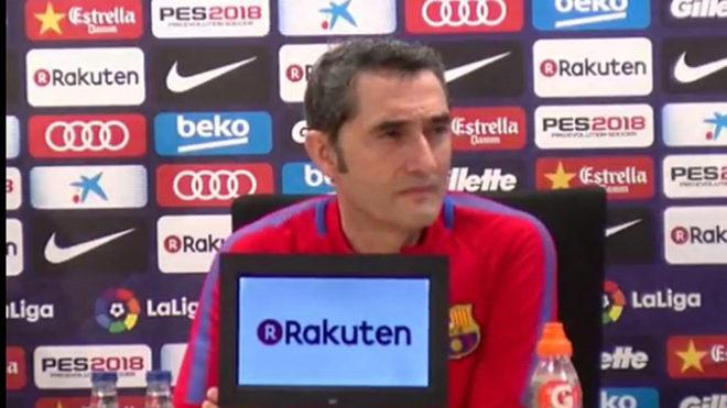 """Valverde: """"Elismerjük a Madridot, de senkinek nem állok sorfalat"""""""