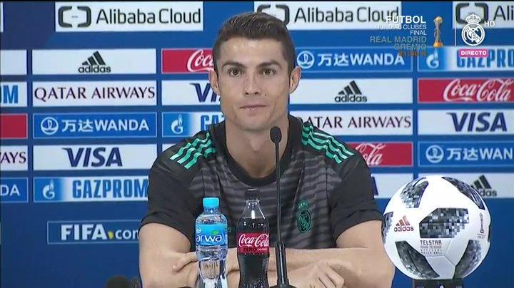 """Cristiano Ronaldo: """"A Real Madridból szeretnék visszavonulni"""""""