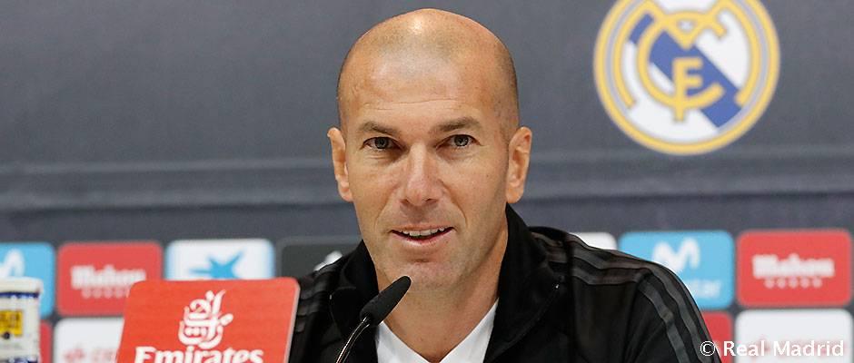 """Zidane: """"Cristiano száz százalékos állapotban van"""""""