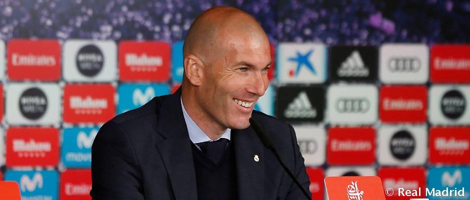 """Zidane: """"Készen fogunk állni a kijevi döntőre"""""""