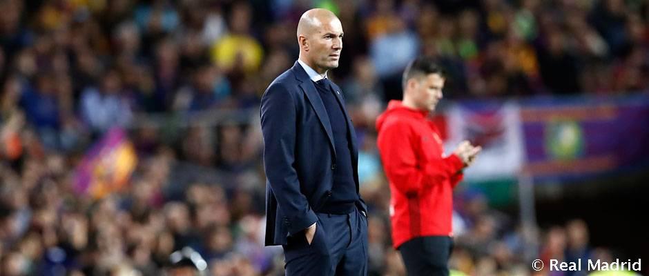 """Zidane: """"Jó Clásico volt, nagy irammal és sok helyzettel"""""""