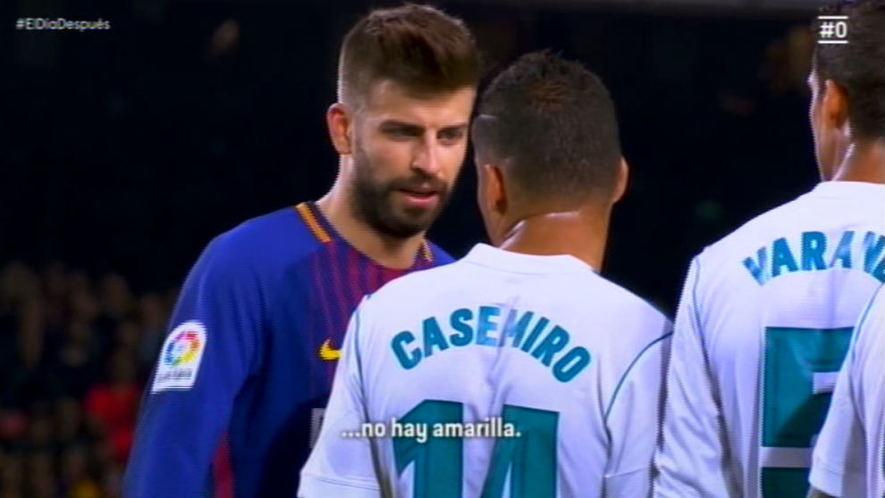 """Piqué: """"Ilyen bírói döntések mellett is megnyertük a bajnokságot"""""""