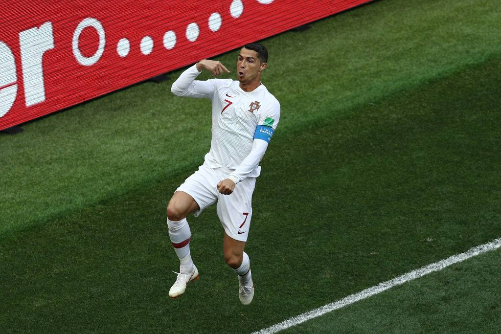 Cristiano Ronaldo immáron Puskás Ferenc előtt