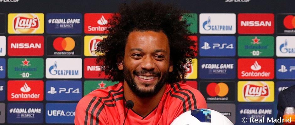 """Marcelo: """"Izgalmas minden reggel azzal a tudattal ébredni, hogy a világ legjobb csapatában játszom"""""""