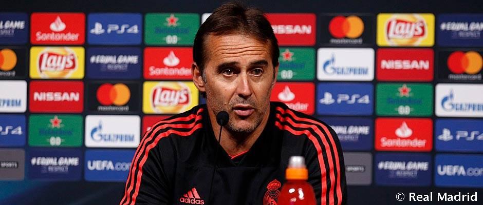 """Lopetegui: """"Bale hozzáállása példaértékű, örülünk neki, hogy ilyen keményen dolgozik"""""""