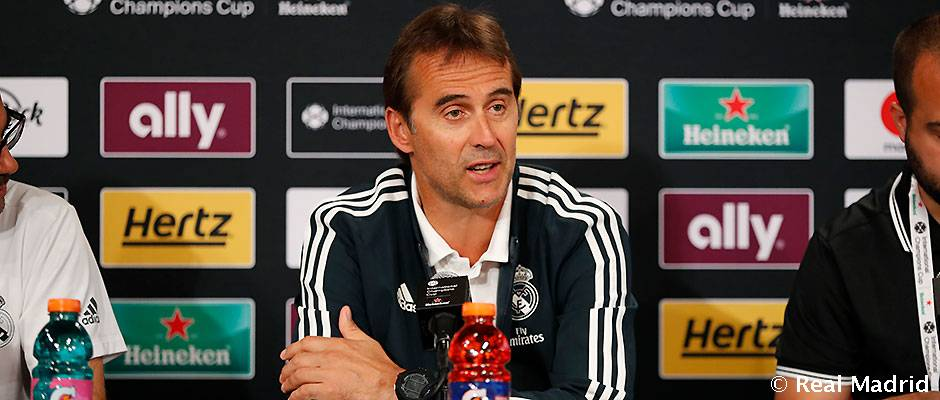 """Lopetegui: """"Hiszem, hogy Modric és Kovacic is boldogan marad a Real Madridnál"""""""