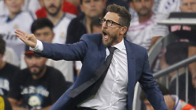 """Di Francesco: """"Ha Real Madrid szurkoló lennék, nem aggódnék Ronaldo távozása miatt"""""""