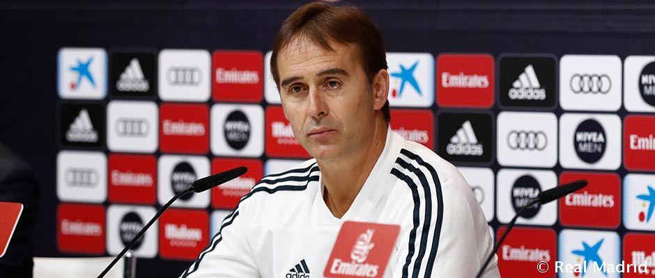 """Lopetegui: """"Nehéz meccs vár ránk, de maximális lelkesedéssel várjuk"""""""