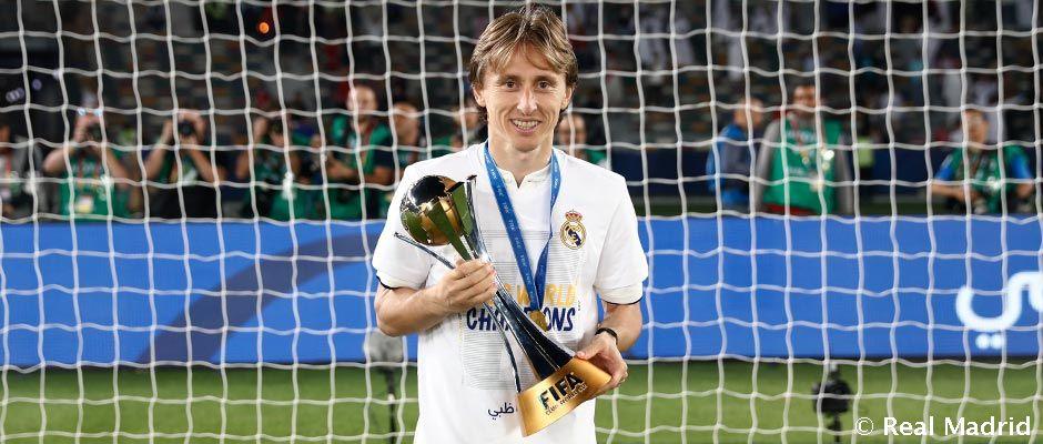 """Modric: """"Felejthetetlen év volt ez számomra"""""""