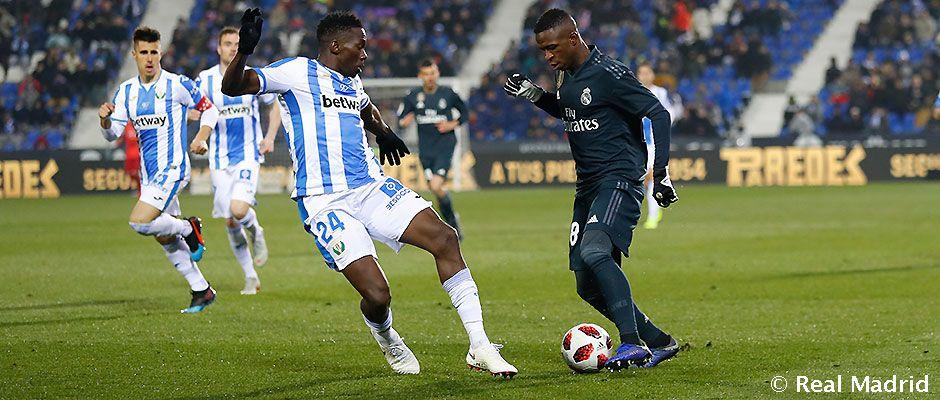 Leganés – Real Madrid (1-0), 2019.01.16, Spanyol Kupa