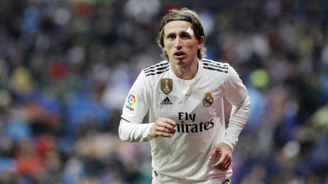 """Modric: """"Szeretnék sokáig a Real Madridnál lenni, remélem a klub is így érzi"""""""