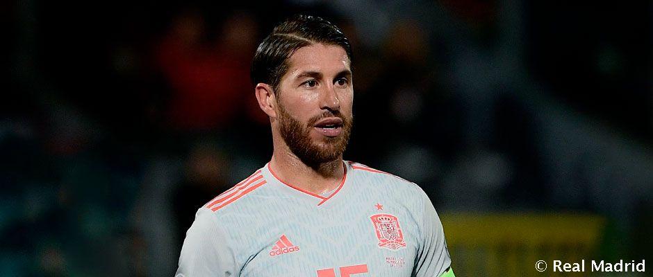 Sergio Ramos már tizennégy éve a válogatottban