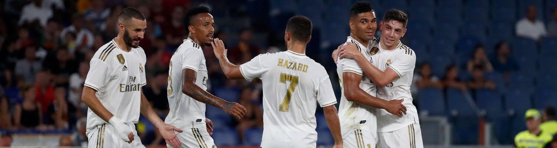 Az AS Roma elleni meccs képekben