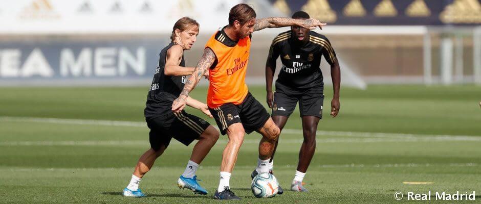 Edzés képekben: a csapat készül a Valladolid elleni meccsre