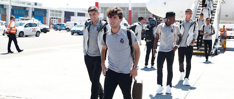 A csapat megérkezett Rómába