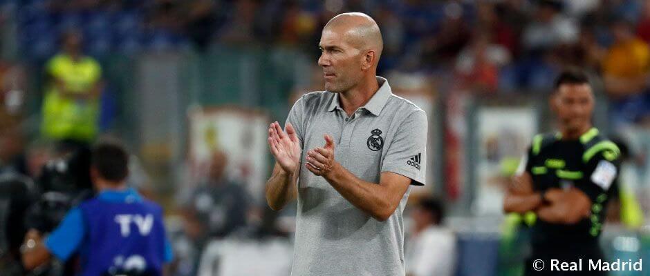 """Zidane: """"Készen állunk a bajnokságra"""""""