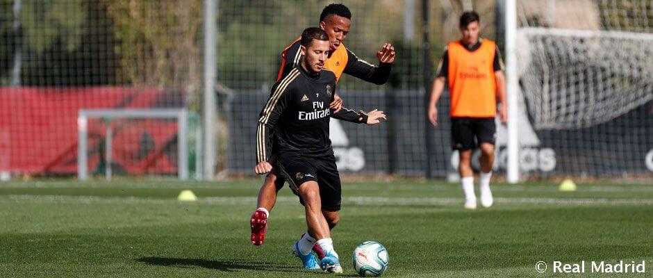 A csapat ma folytatta a felkészülést a Granada elleni meccsre