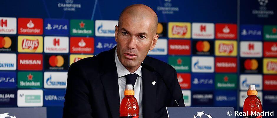 """Zidane: """"Szeretném elfelejteni az első félidőt, de tanulnunk kell belőle"""""""