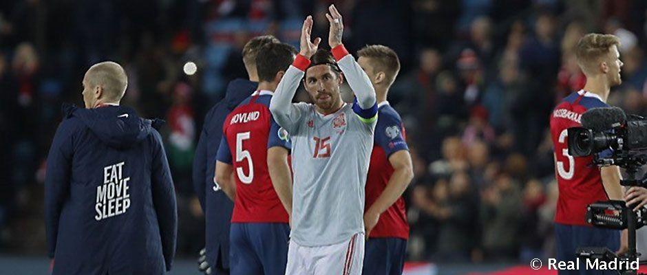 Sergio Ramos lett a legtöbb válogatott mérkőzéssel rendelkező spanyol játékos