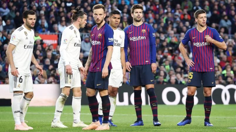 Mi vár még a Barcára és a Real Madridra az egymás elleni mérkőzésükig?