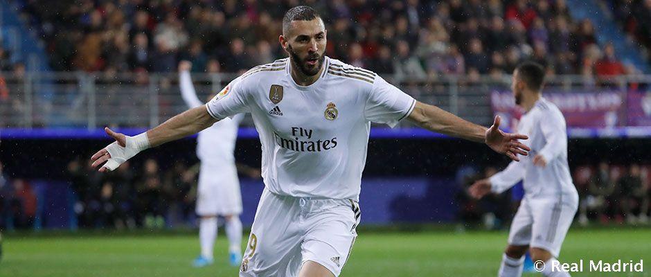 Benzema már a 6. legjobb góllövő a ligában a Real Madrid történetében