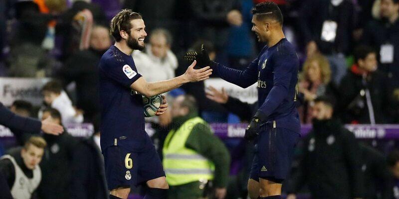 A Valladolid elleni meccs képekben