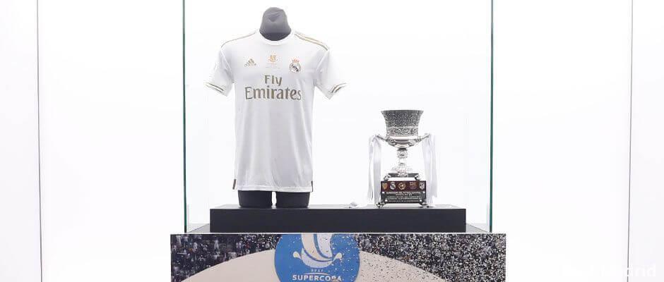 A csapat legújabb trófeája már megtekinthető a stadionban