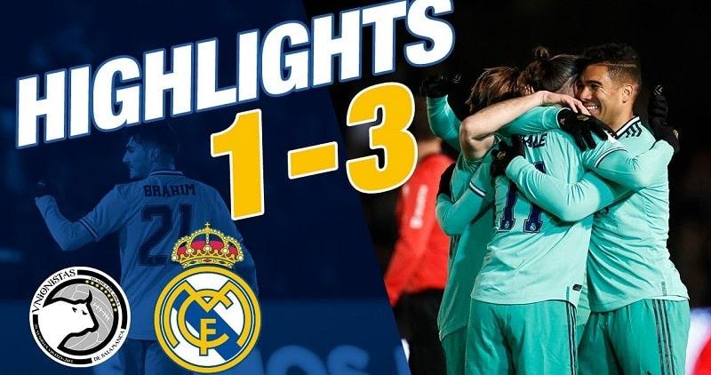 Összefoglaló: Unionistas – Real Madrid