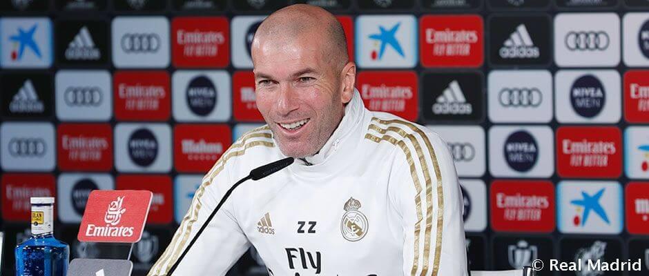 """Zidane: """"Nincs gond a motivációnkkal a Kupában"""""""