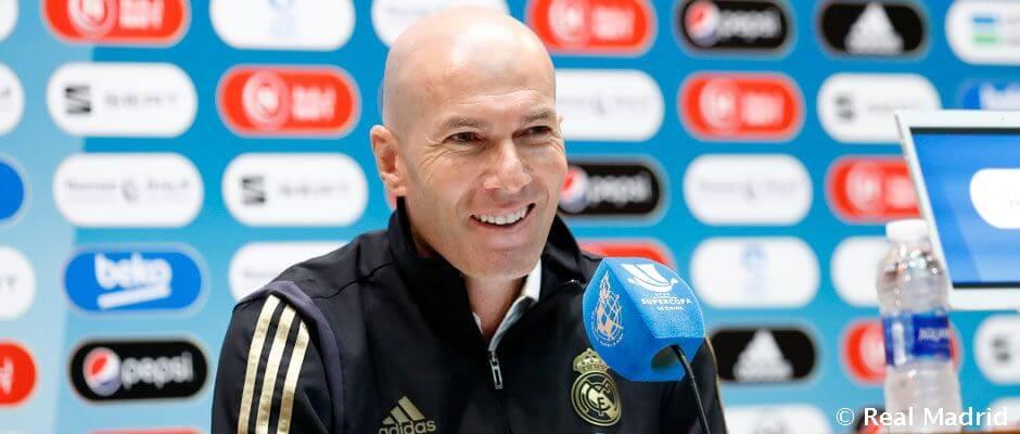 """Zidane: """"Szerencsések vagyunk, hogy itt lehetünk a tornán, és szeretnénk kihasználni a lehetőséget"""""""