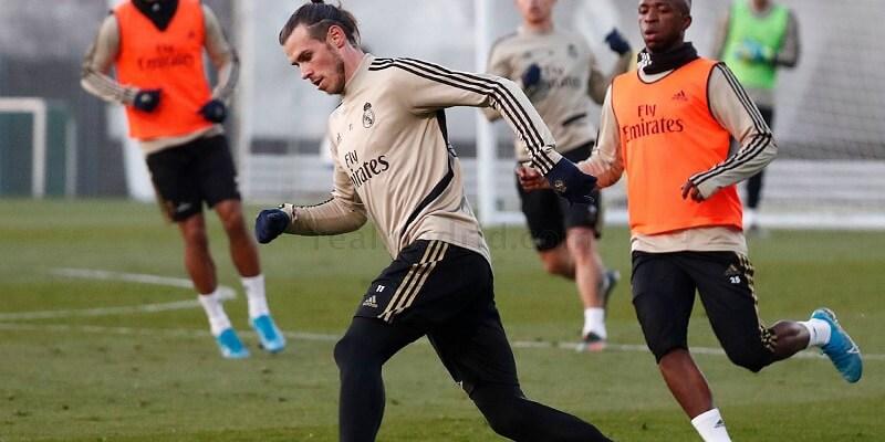 Gareth Bale újra edzésben