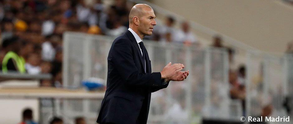 """Zidane: """"Örülnünk kell a győzelemnek, de még nem nyertünk semmit"""""""