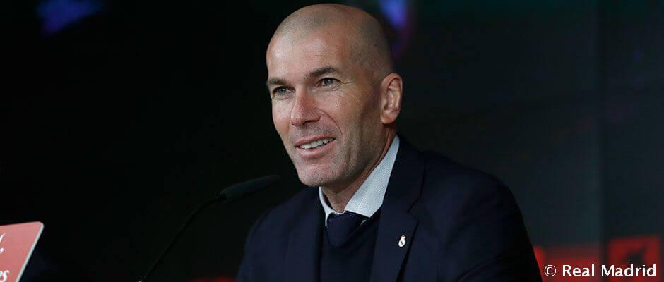 """Zidane: """"A második félidőben jobbak voltunk"""""""