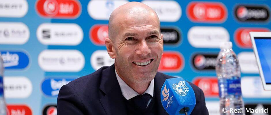 """Zidane: """"A végsőkig hittünk a győzelemben"""""""