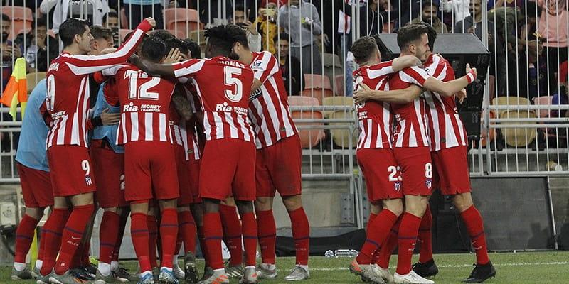 Az Atlético Madrid lesz a csapat ellenfele a Szuperkupa döntőjében