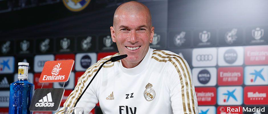 """Zidane: """"Akkor is bízom egy játékosomban, ha éppen nem kap helyet a keretben"""""""