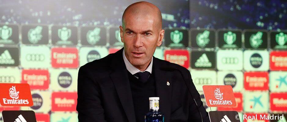 """Zidane: """"Össze kell szednünk magunkat, és folytatnunk kell a munkát"""""""