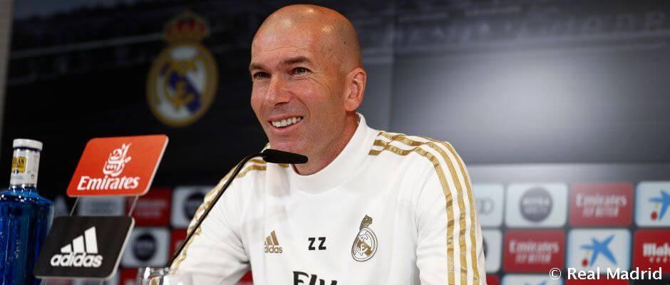 """Zidane: """"Szívvel, egységet alkotva és okosan kell játszanunk"""""""