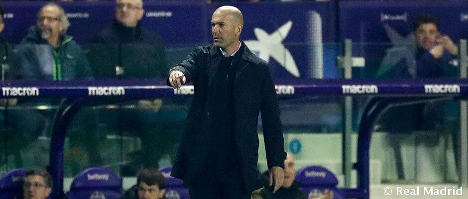 """Zidane: """"A gól nem jött össze, pedig az lenne a legfontosabb"""""""